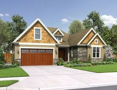 One of my favorite home designs: Mascord Plan 22198 - The Cotswolder