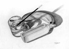 Still life for art school assignment Art School, Pencil Drawings, Still Life, Abstract, Artwork, Summary, Work Of Art, Auguste Rodin Artwork, Artworks
