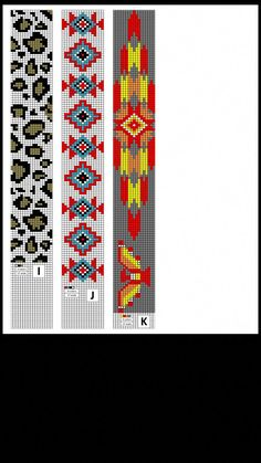 off loom beading techniques Native Beading Patterns, Bead Crochet Patterns, Seed Bead Patterns, Beaded Jewelry Patterns, Cross Stitch Patterns, Loom Bracelet Patterns, Beaded Lanyards, Beading Techniques, Tapestry Crochet