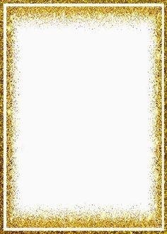 Te invito Old Paper Background, Gold Glitter Background, Frame Border Design, Page Borders Design, Glitter Png, Card Templates, Border Templates, Picture Borders, Wish Gifts