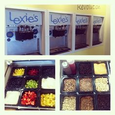 Fresh fruit, fun candies, and a tons of different yogurt combinations to choose from! #lexiesfroyo