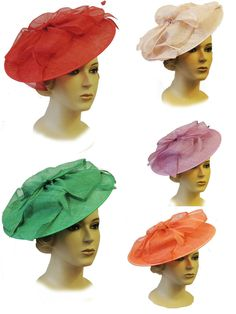 New Ladies Vtg 1940s 50s Glamour Retro Sweetheart Pin-up Fascinator Hatina  Hat 3973f1a330ef