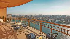The Royal Suite Terrace at Conrad Cairo