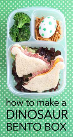 Boy's Dinosaur Bento Lunchbox Ideas