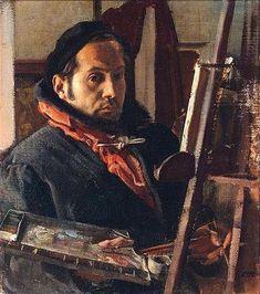 Annigoni, Pietro (1910-1988) - Self-Portrait