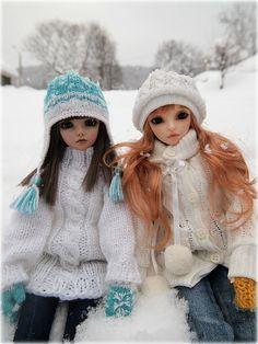BJDs on a winter day