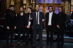 One direction on snl.  Oh, oh oh you don't know your basic facts.