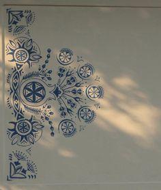Letné parádenie príbytkov - Maľované okno / Amalia / SAShE.sk Folk, Celestial, Popular, Fork, Folk Music, People