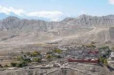 Lo Manthang, Upper Mustang, Nepal. This ancient city was founded in 1380 by Ame Pal, a direct ancestor of the city's former king.