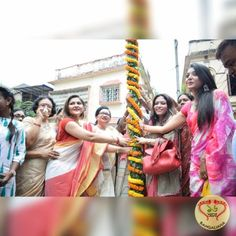 The Khuti Pujo ceremony of Hindusthan Club took place in the presence of Smt. Chandrima Bhattacharjee and Tollywood actress Konineeca Banerjee.