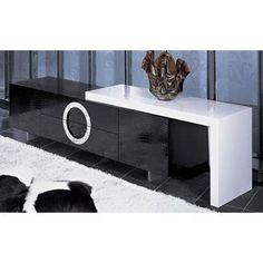 1000 images about tv stands on pinterest tv stands glass shelves and media shelf. Black Bedroom Furniture Sets. Home Design Ideas