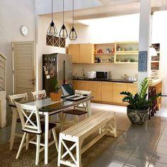 "Rumah Impian Minimalis di Instagram ""Ruangan makan istimewa, tampak semakin kece dengan adanya taman didalam rumah. Sambil makan pikiran adem lihat taman rumah, suka gak bun…"" - MyKingList.com"