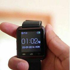 """Onix U Watch U8 Smartwatch  Strap Hanya Warna Hitam Spesifikasi : Layar sentuh 148"""" Mukti bahasa Teknologi layar sentuh Untuk Android dan ios Strap silikon  I-one smartwatch U8 adalah smartwatch bluetooth yang membuat menghubungkan ponsel Android dan ios anda yang secara mudah mengakses -panggilan telepon -Phonebook -sms -pedometer -pemutaran musik -alarm -kalender -stopwatch -dsb . #onix #smartwatch #U8 #Watch #jktkom #jakartakomputer #imbisnis #carireseller #PeluangUsaha #financialfreedom…"""