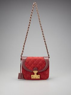 a little modern classic    Marc Jacobs - Suede Quilting Spice Shoulder Bag