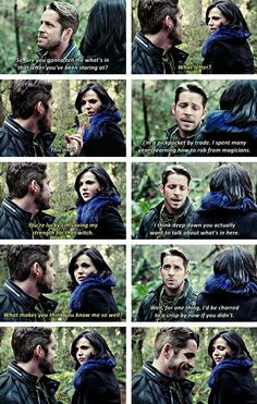 Outlaw Queen. This is my favorite scene of them so far :) They are like my newest OTP ;)