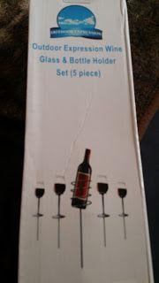Simones Produkttest: Outdoor Weinglas-Flaschenhalter aus Edelstahl