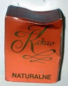 E.Wedel Kakao Naturalne-opakowanie NOWE lata 70' ?