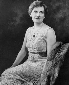 "Photo: Nellie Tayloe Ross (1876-1977). Credit: Wikimedia Commons. Read more on the GenealogyBank blog: ""First Two Women Governors in U.S. History Elected"" https://blog.genealogybank.com/first-two-women-governors-in-u-s-history-elected.html"