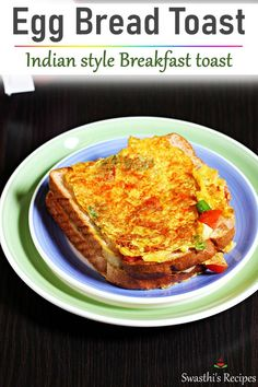 Egg recipes - Collection of 52 anda recipes - Swasthi's Recipes Breakfast Toast, Indian Breakfast, Breakfast Recipes, Meat Recipes, Snack Recipes, Cooking Recipes, Egg Bread Toast, Egg Omelette Recipe, Egg Recipes Indian