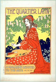 The Quartier Latin, A Magazine Devoted to the Arts, by Louis Rhead.