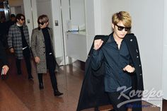 [PRESS PICS] 141115 JYJ at Haneda Airport in Japan