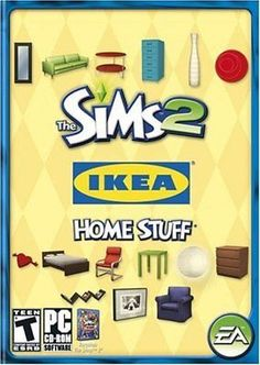 The Sims 2 Ikea Home Stuff PC Games Windows 10 8 7 XP Computer expansion pack