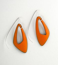 Enameled earrings - W Walsh Designs