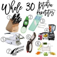 whole30 kitchen favo