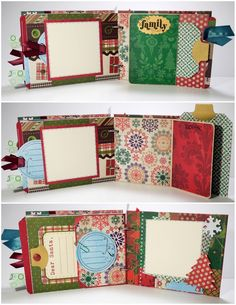 Items similar to Christmas Scrapbook Mini Album, Family, Christmas Traditions on Etsy Scrapbook Journal, Mini Scrapbook Albums, Scrapbook Paper Crafts, Scrapbook Cards, Christmas Mini Albums, Christmas Scrapbook, Christmas Minis, Paper Bag Album, Paper Bags