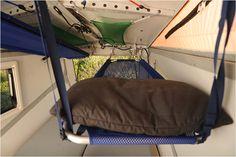 Cricket Trailer bunk attic beds