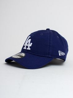 Cappelli Fit 39Thirty Team Unstructured Wash Los Angeles Dodgers New Era  Caps  2e419a70ffa4