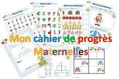 Carnet des progrès en maternelle File Folder Games, Kindergarten Lesson Plans, Classroom Organisation, Teacher Hacks, First Day Of School, Kids Learning, Elementary Schools, Montessori, Literacy