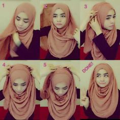 The Easiest Hijab Tutorial With Full Chest Coverage