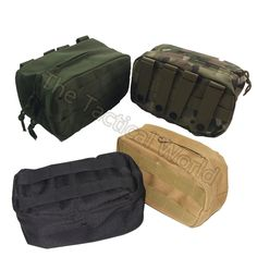 Military Tactical Outdoor Airsoft Waist Bag Multifunctional EDC Molle Pouch Tool Zipper Waist Pack Accessory Durable Belt Pouch.