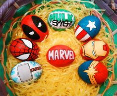 Marvel Eggs by Red-Flare.deviantart.com on @deviantART