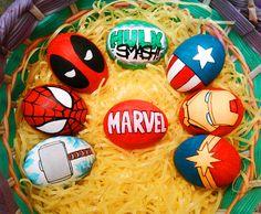 Marvel Eggs by Red-Flare.deviantart.com on @deviantART