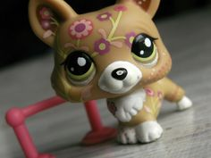 Image result for lps fox with flowers light brown #1851