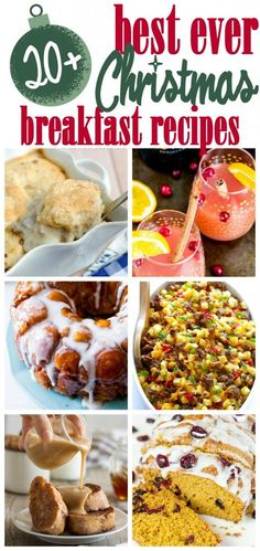 The best Christmas breakfast recipes! The best Christmas breakfast recipes, that look and sound incredible. I hope you're able to find a few to make your Christmas brunch extra special! Christmas Breakfast Casserole, Christmas Morning Breakfast, Christmas Brunch, Christmas Buffet, Brunch Casserole, Xmas Dinner, Xmas Party, Brunch Menu, Brunch Recipes