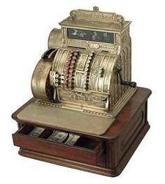 Vintage Cash Register (copyright unknown)