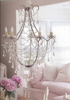 change with a chandelier