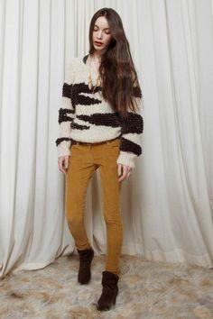 GOOD AS GOLD — Bros Sweater, raw/dark grey  http://www.goodasgold.co.nz/collections/nanushka