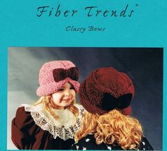What stylish little lady would love an Adorable Knitted Classy Bows Hat Pattern by CraftiqueRedux on Etsy, $1.99