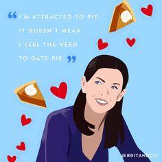 It's always the right time to eat like the Gilmore Girls.