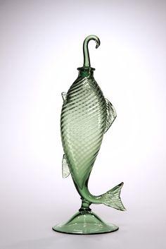 Fish Decanter, Steuben Glass, Inc., United States, Corning, NY 1925-1935