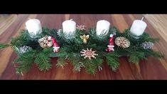 DIY - Adventsgesteck selber basteln - Weihnachtsdeko - Weihnachten Christmas Wreaths, Holiday Decor, Home Decor, Holiday Decorating, Decoration Home, Room Decor, Home Interior Design, Home Decoration, Interior Design
