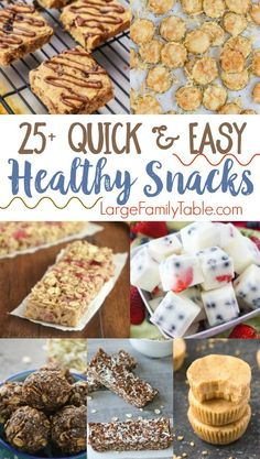 Quick & Easy Healthy Snack Recipes that kids and parents love! It makes a mom feel good when she can find healthy snacks to feed the kids. These are delicious snacks! Healthy Office Snacks, Healthy Bedtime Snacks, Healthy Snacks To Make, Nutritious Snacks, Quick Snacks, Yummy Snacks, Clean Eating Snacks, Snack Recipes, Healthy Recipes