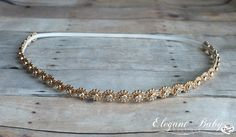 Gold Rhinestone Halo Headband, Prom Headband, Wedding Headband on Etsy, $11.95