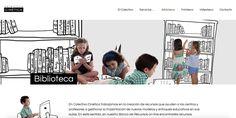 Las páginas web seleccionadas están creadas por educadores que creen que otra forma de enseñar es posible.