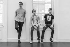 "Adam, Jack, and Ryan Met of AJR venture across New York City in ""I'm Ready"" lyric video.  These guys are so much fun.  Wonderful misicians and so creative."