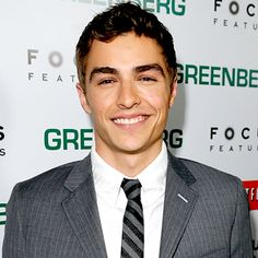 Dave Franco - doesnt hurt that he has the same smile as his brother.